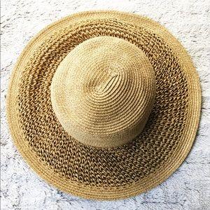 GAP Straw Wide Brim Floppy Hat